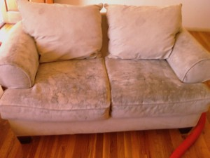 Dirty Loveseat